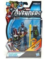 The Avengers Movie 3 1/3'' Capt.America #1
