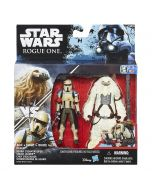 Rogue One: Scarif Stormtrooper & Moroff 2-Pack