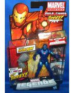 Marvel Legends 2012 Extremis Iron Man Blue