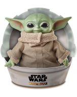 Star Wars The Mandalorian Plüschfigur Grogu / The Child / Baby Yoda Mattel