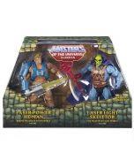 MASTERS OF THE UNIVERSE Classics: Laser Light Skeletor vs. Laser Power He-Man
