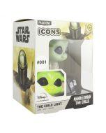 The Mandalorian Grogu / The Child / Baby Yoda 3D Light Icon Lampe