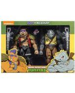 Teenage Mutant Ninja Turtles Rocksteady and Bebop Cartoon Series 2 NECA