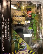 Nightmare before Christmas Select Serie 6 Clown with Tear-Away Face and Undersea Gal