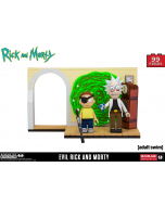 Rick and Morty Small Bauset Evil Rick and Morty