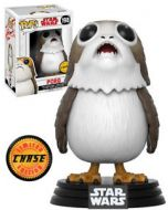 Star Wars Episode VIII Porg CHASE Pop! Vinyl Bobble-Head