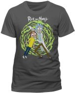 Rick & Morty T-Shirt Spiral