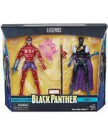 Marvel Legends Black Panther Marvel's Klaw / Shuri 2-Pack