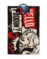 DC Comics Harley Quinn Hello Puddin Fußmatte / Doormat