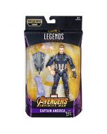 Marvel Legends BAF Thanos Avengers: Infinity War Captain America