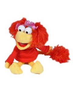 Fraggle Rock Red 10'' Plush Doll with DVD