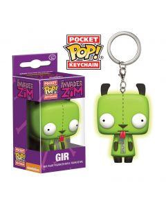Invader Zim Glow in the Dark Pop! Keychain