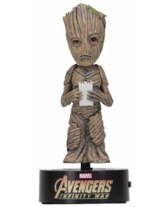 Avengers Infinity War Groot Solar Body Knocker Bobblehead / Wackelkopf