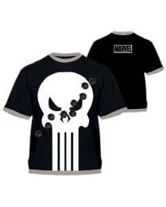 Punisher Damaged Logo T-Shirt