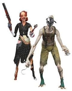 Bioshock 2: Splicer 2-Pack Ladysmith & Crawler