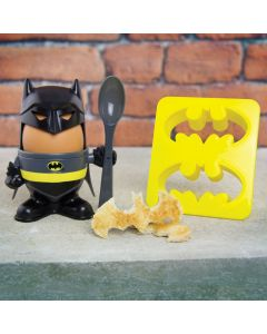 DC Comics Batman Eierbecher und Toastausstechform