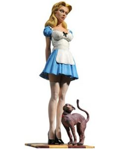 Femme Fatales Alice in Wonderland PVC-Statue