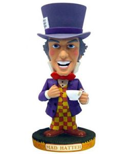 Alice in Wonderland Mad Hatter Bobblehead / Wackelkopf