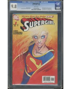 Supergirl (2005 4th Series) #1B CGC 9.8