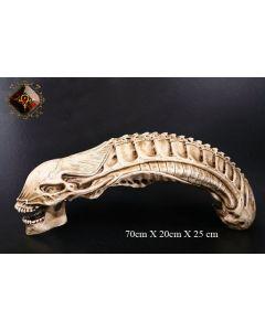 Alien Skull Lifesize