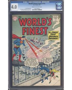 World's Finest (1941) #115 CGC 4.0