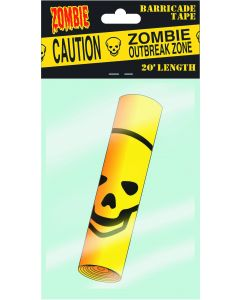 Caution Zombie Outbreak Barricade Tape