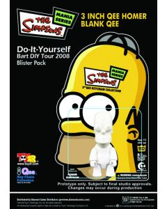 Simpsons: Homer DIY Qee Keychain Figure