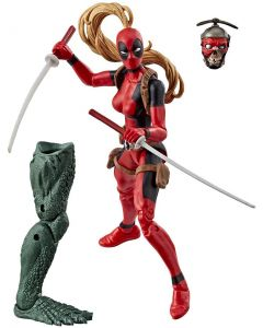 Marvel Legends BAF Sauron Deadpool Lady Deadpool