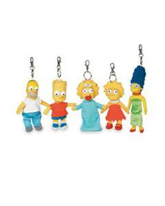 Simpsons Homer Pluesch Schluesselanhaenger
