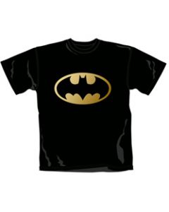 Batman Gold-Foil Logo T-Shirt