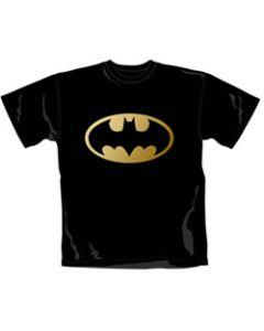 Batman Gold-Foil Logo T-Shirt