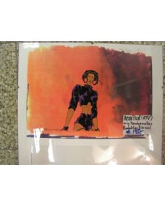 Aeon Flux (MTV) handpainted orig. Production Cel