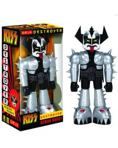 KISS Destroyer Demon Robot Vinyl Invader Figure