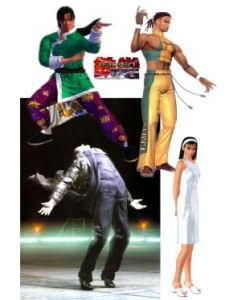 Tekken Tag Tournament 18cm: Eddy Gordo
