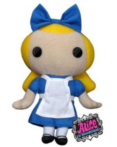 Alice in Wonderland: Alice Pluesch 18cm