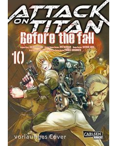 Attack on Titan -Before the Fall #10