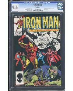Iron Man (1968 1st Series) #190 CGC 9.6