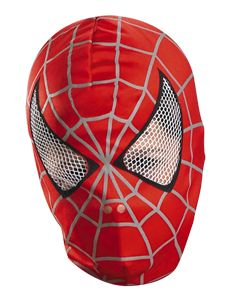 Spider-Man 3 Movie Spider-Man Deluxe Fabric Mask