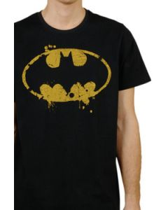 Batman Grunge Logo T-Shirt