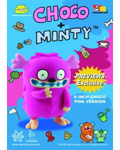 CHOCO 8IN PINK VERSION VINYL FIGURE