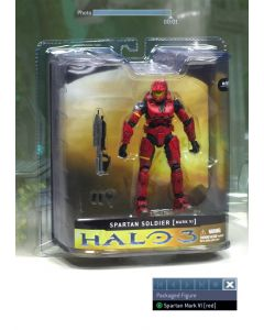 Halo 3 Ser.1 Spartan Mark VI Red