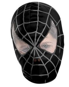 Spider-Man 3 Movie  Deluxe Fabric Mask black