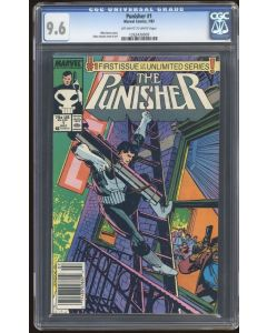 Punisher (1987 2nd Series) #1 CGC 9.6
