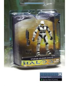 Halo 3 Ser.1 Spartan Mark VI White