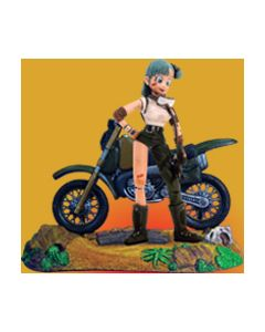 DRAGONBALL: Bulma + Bike