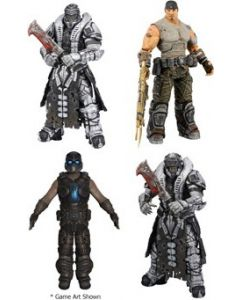Gears of War 3 Ser.3 Marcus Fenix