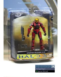 Halo 3 Ser.1 Spartan E.V.A. Red