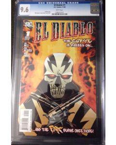 El Diablo # 1 1st appearance CGC 9.6  Suicide Squad