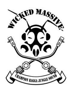 WICKED MASSIVE Kapuzen Jacke