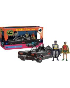 Batman 1966 Set Batman, Robin & Batmobile